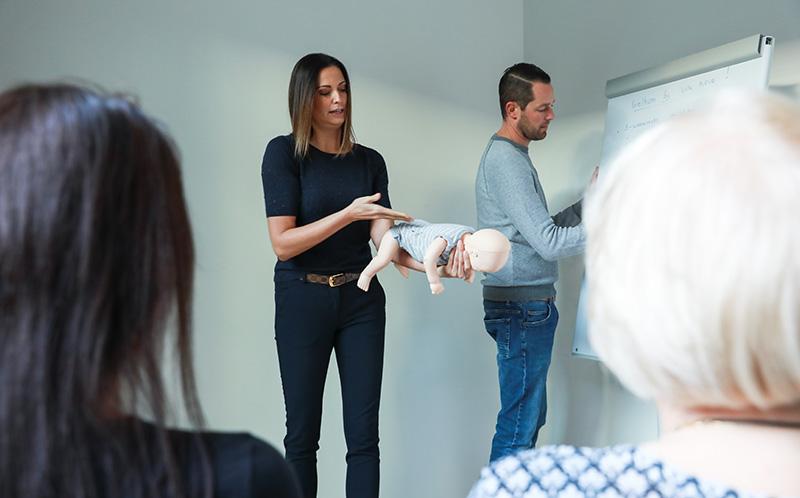 Workshop Levensreddend Handelen baby en kind